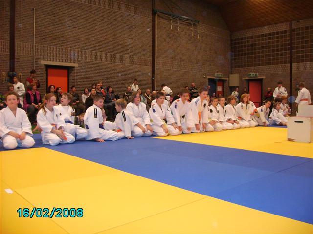 109 judoka's treden aan in Biddinghuizen